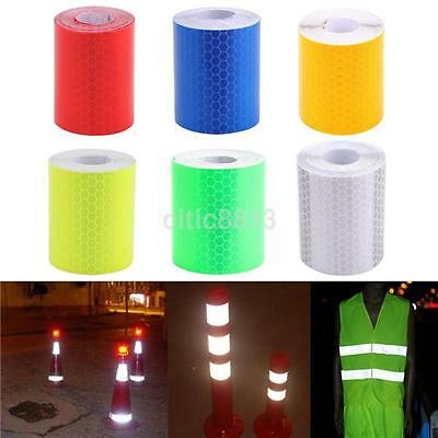 New 3M Reflective Safety Warning Conspicuity Tape Self Adhesive Film Sticker US