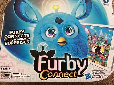 Furby Connect Blue Interactive Toy Brand New Hot Item - PRICED TO SELL
