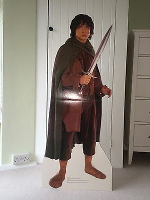 Elijah Wood (Frodo) Signed LOTR Life Size Standee Cardboard Cut Out! VERY RARE!!