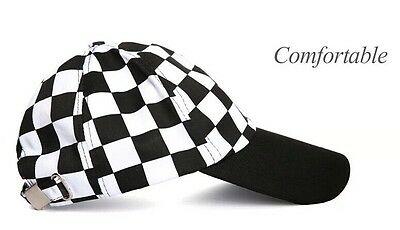 Chef Works Cool Vent Collection Check Baseball Cap Hat Free Shipping