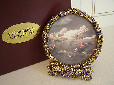 Edgar Berebi Picture Frame Limited Edition, New in box