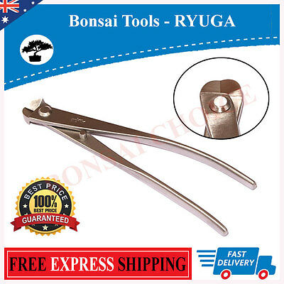 High Grade Premium Bonsai Tools - RYUGA 180mm Wire Cutter Stainless Steel