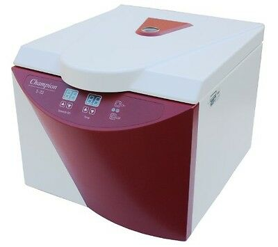 Ample Scientific Champion S-33 Benchtop Centrifuge, 8-Place Swing Rotor, 15mL