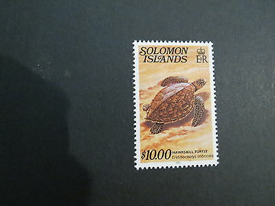 1979-83 $10 Imprint Date Reptiles Solomon Islands E.r Mnh Mint Stamp More Listed