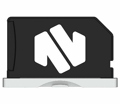 """Nifty MiniDrive Retina 13"""" Silver Micro SD Card Adaptor. Up to 200GB Storage for"""