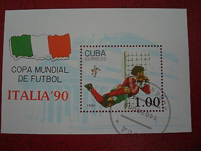 Central America - 1990 World Cup (1) - Minisheet - Unmounted Used - Ex Condition