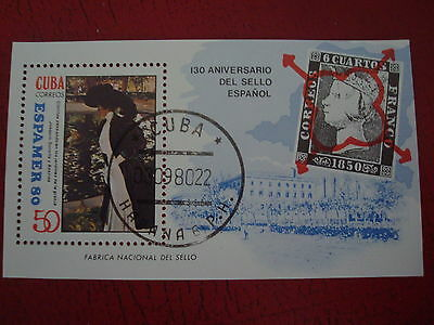 Central America - 1980 Espamer - Minisheet - Unmounted Used - Ex Condition