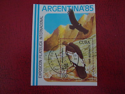 Central America - 1985 Argentina - Minisheet - Unmounted Used - Ex Condition