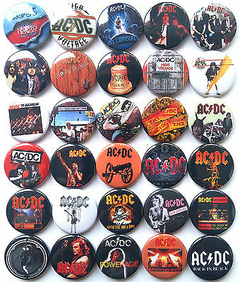 AC DC AC / DC Highway to Hell Let There Be Rock TNT fija los botones de...