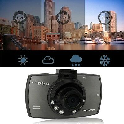 G30 2.4inch 1080P Car DVR 120 Degre Video Recorder Dash Cam Night Vision BY