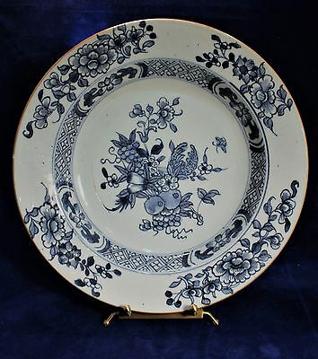 18th c. Chinese Kangxi Blue and White Export Porcelain Bowl