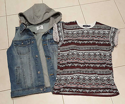 YOUNG MEN/TEEN  CLOTHING STRAY & TOPMAN size S