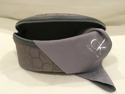BRAND NEW - Calvin Klein Sunglasses Glasses Case Large With Lens Cloth