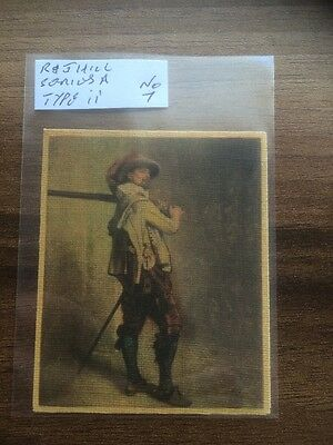 Silk  Canvas   R J Hill, London  Canvas Masterpieces No7 Type A (ii)  H.T.&Co