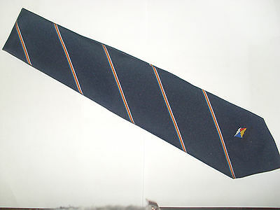 P & O Company Neck-Tie With Coloured House Flag On The Front – New And Unused