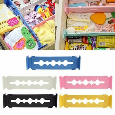 Adjustable Stretch Clapboard Drawer Divider Necessities Storage Organizer DIY