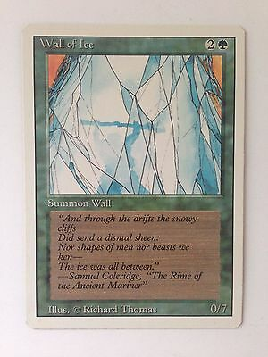 Wall of Ice Revised Edition Magic the Gathering MTG Trading Card