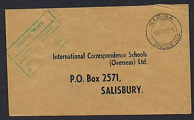 1978/80 group of 12 cover each with diff 'Army/Official Free' etc markings MS425