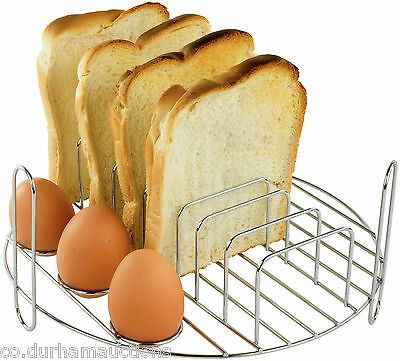 Andrew James Halogen Oven Full English Breakfast Grill Rack Egg Boiler Toaster