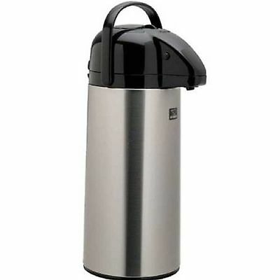 ZOJIRUSHI Stainless Steel AIR POT Beverage DISPENSER 74 ounce 2.2 L. -SHIPS FREE