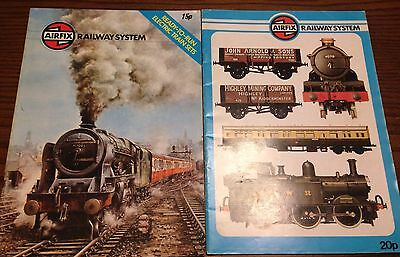 Vintage Airfix Railway System Catalogues