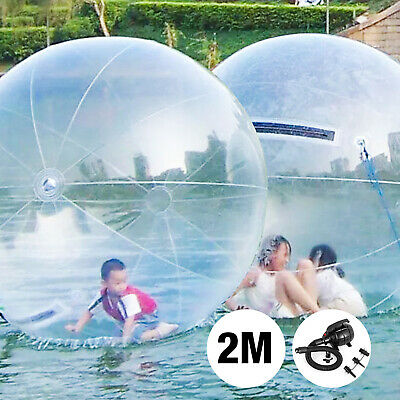 Zorb 2M Water Walking Ballon Inflatable Rouleau Boule Eclair Ger Roll Ball