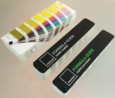 Pantone Formula Guide - Solid Coated & Solid Uncoated - Excellent Condition