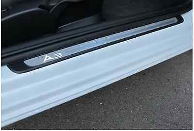 Genuine Audi A3 3dr Illuminated Door Sill Trim Plates 2013>