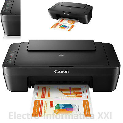 Multifunción Color Inyeccion Canon Pixma MG2550s Escaner Impresora Copiadora