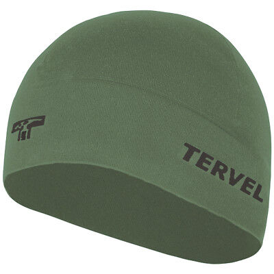 Tervel Comfortline Training Cap Sport Exercise Hat Tactical Thermal Beanie Olive