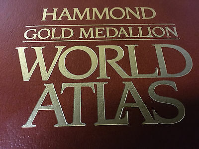 Hammond Gold Medallion World Atlas ADVANCED BUSINESS ANALYSIS PROGRAM