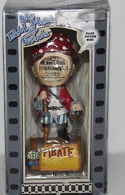 Mr. BobL.Head & Friends Best Pirate-Place Your Own Photo Bobblehead