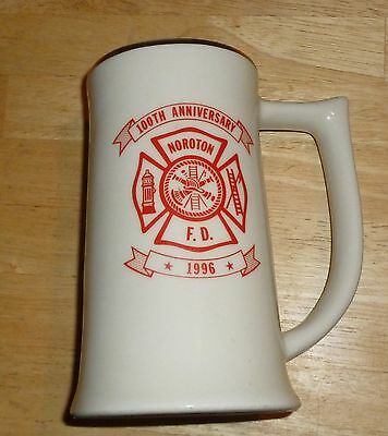 Noroton Fire Department  100th Anniversay Stein