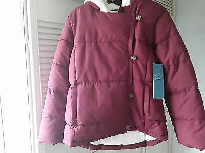 girls winter coat/ jacket 11- 12 years new with tags