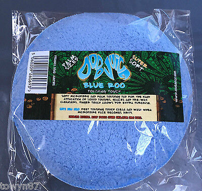 Dodo Juice Blue Roo Microfibre Applicator Pad for Detailing and Valeting