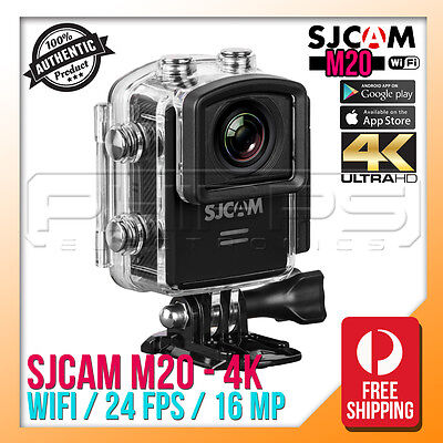 SJCAM M20 4K Waterproof Sports HD WiFi Action Camera