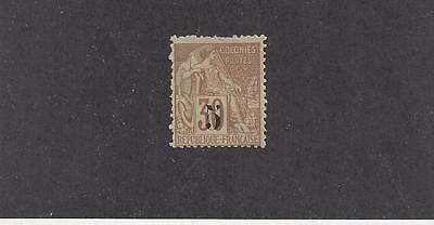 """Senegal #6   Mh  """"french Colonies With Black Overprint"""""""