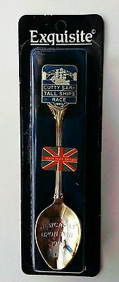 Tall Ship Race Newcastle 1993 Commemorative spoon. Silver plated