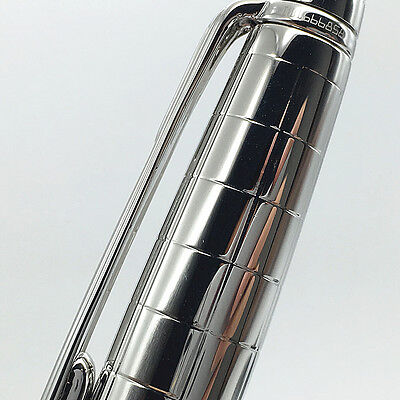 Luxury Classic Meister Pen MB Brand Silver Rollerball with serial number