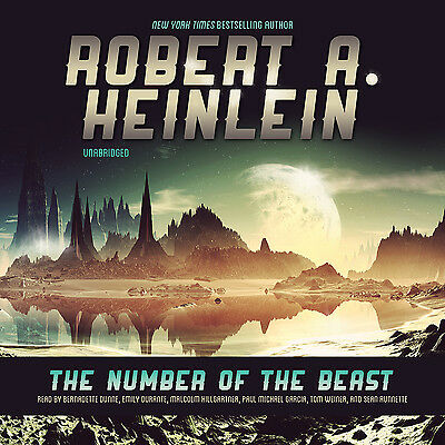 The Number of the Beast by Robert A. Heinlein CD 2012 Unabridged