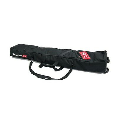 SnoKart Board Roller - Wheeled Padded Snowboard Carry Bag