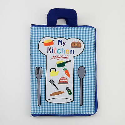 NEW Baby Clothing, Gifts and Accessories Dyles My Kitchen Playbook - Blue