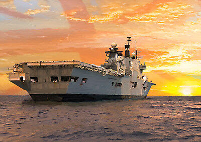 """HMS ILLUSTRIOUS - """"So Long Lusty"""" - HAND FINISHED, LIMITED EDITION (25)"""