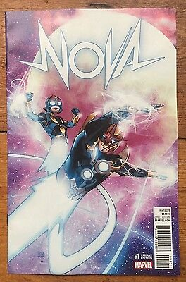 Nova #1 (2017) Scarce 1:25 Ferry Variant Cover 1St Print Nm Unread