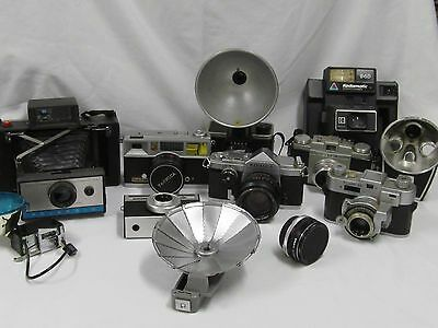 Wholesale lot of Vintage cameras