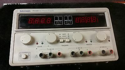 Tektronix PS280 Variable 30V 2A and 5V 3A Triple Output DC Power Supply.  Tested