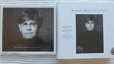 Elton John Believe 1995 Limited Box Part 1&2 (V Rare/Near Mint ) Promo Stickered