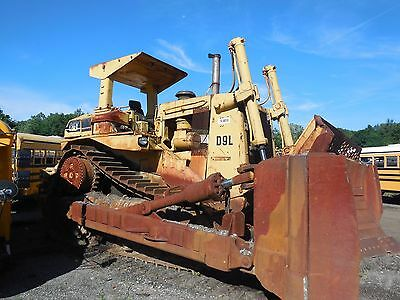 Used 1985 Cat D9L (14Y) Crawler Dozer - Good Condition
