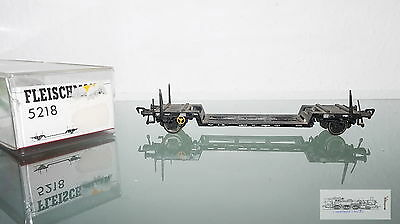 Fleischmann 5218, Freight car Low loading wagon DB for track H0, boxed