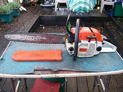 """Stihl 028 Woodboss Chainsaw With 20"""" Bar One Owner Runs Excellent"""